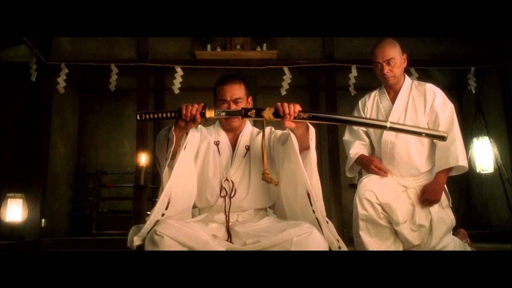 Sonny CHIBA et Kenji OBA, maître et élève à la ville comme à l'écran, dans Kill Bill.