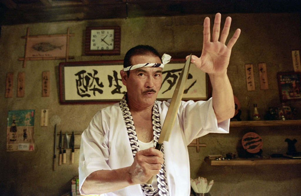 Sonny CHIBA reprend son rôle de Hattori HANZO pour Quentin TARANTINO dans Kill Bill.