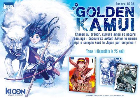 Ki-oon Golden Kamui