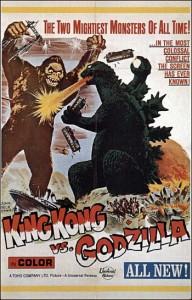 King Kong vs Godzilla, 1962