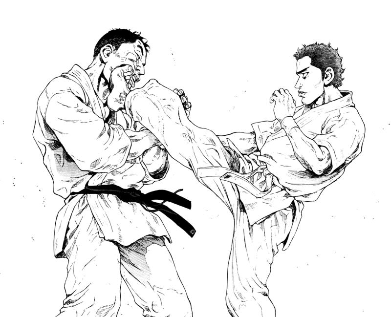 Coq de Combat : récit coup de poing d'un jeune homme en dérive Black Star Soul Eater
