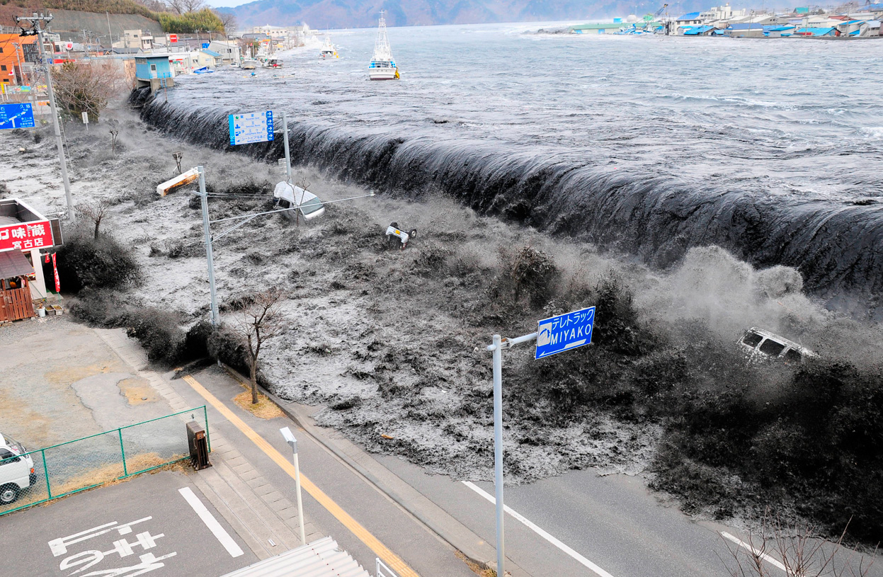 Le tsunami du séisme du Tohoku, une conséquence directe et dévastatrice