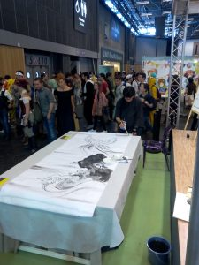 Tsutomu Hirao à Japan Expo