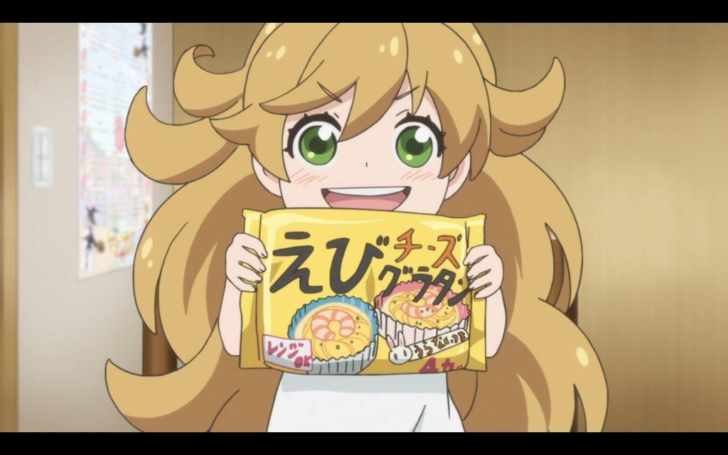 Tsumugi veut des fruits de mer !