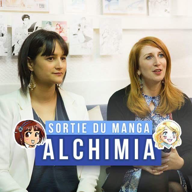 Miya et Samantha Bailly, auteures d'Alchimia