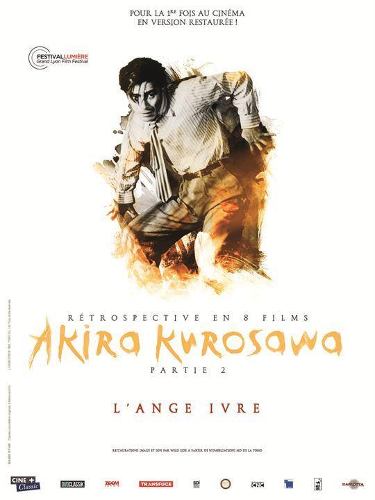 L'Ange ivre Affiche Akira KUROSAWA