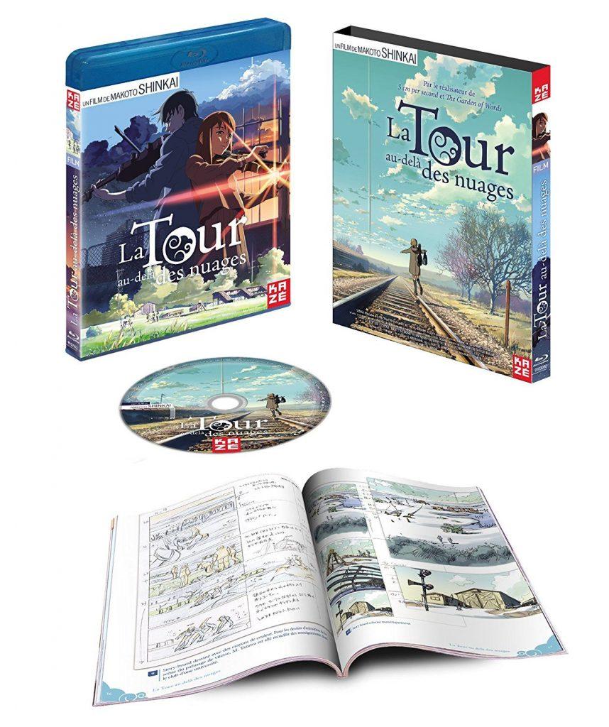 La Tour au-dela des nuages Makoto Shinkai Blu Ray