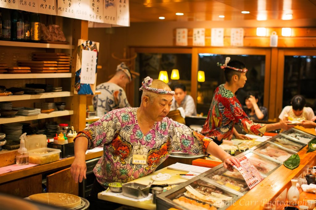 Chefs at Tetsu Sushi, Kyoto C