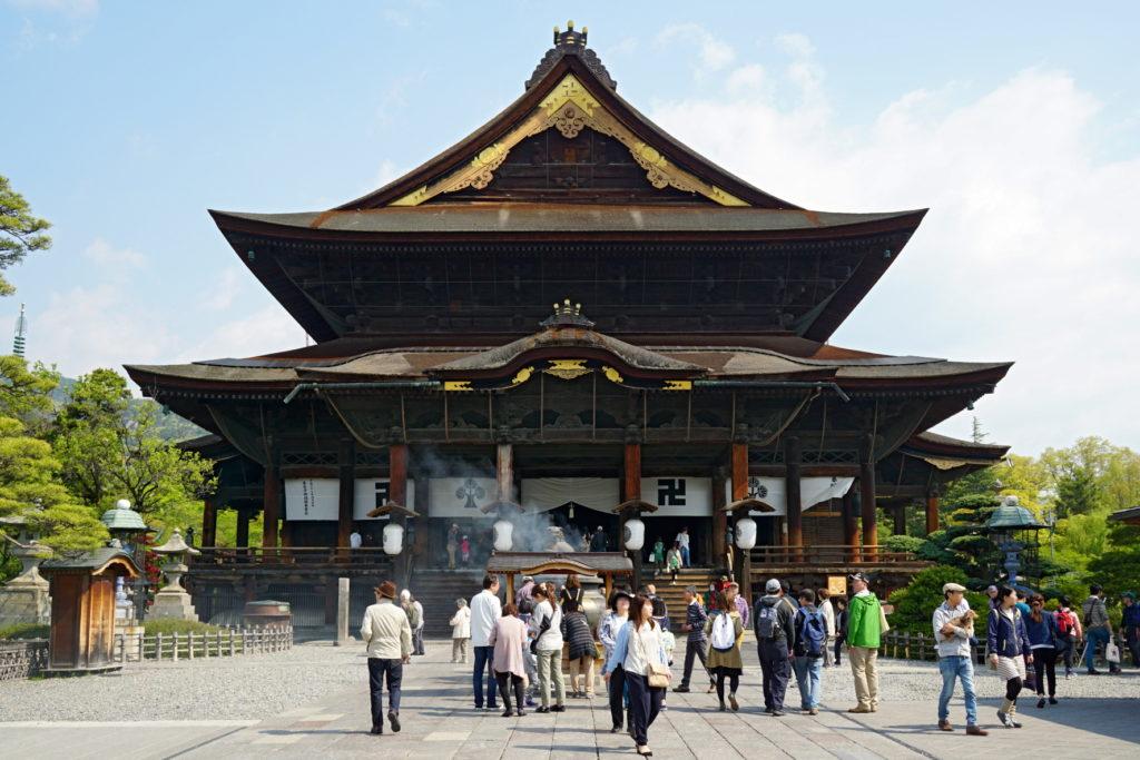Zenkō-ji - Photo de 663highland sur Wikimedia Commons