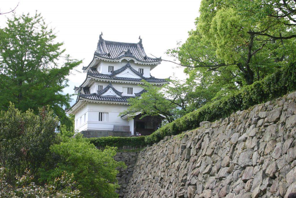 Le château d'Uwajima. Crédits: mapio.net