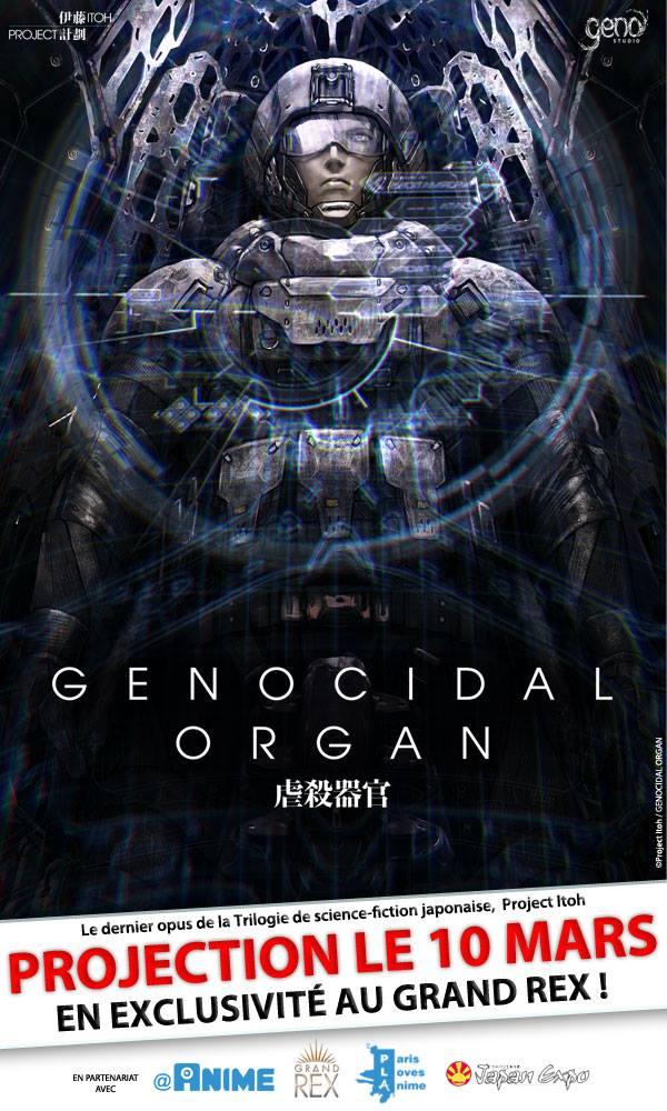 Genocidal Organ Affiche