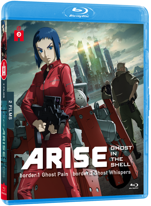 Ghost in the shell Arise 1 2