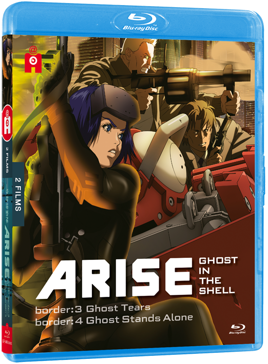 Ghost in the shell Arise 3 4