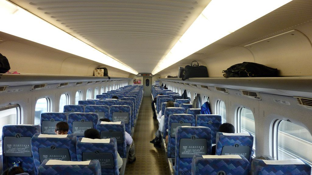 Intérieur Shinkansen