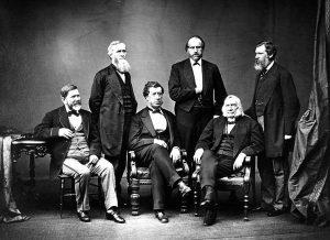 Hamilton Fish et les haut-commissaires en 1871