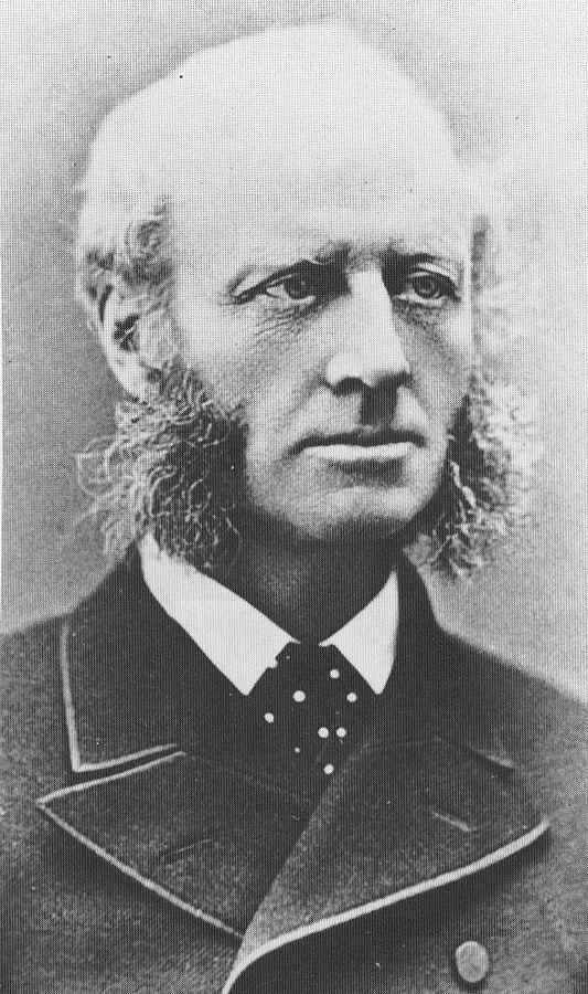 Sir Harry Parkes, consul général du Japon, vers 1870
