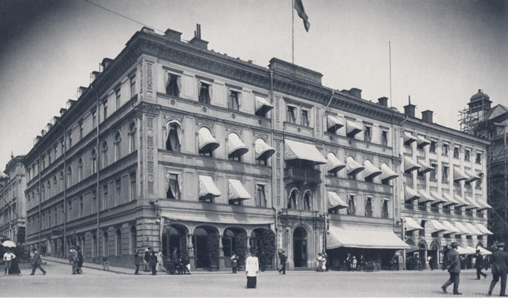 Hôtel Rydberg à Stockholm en 1914