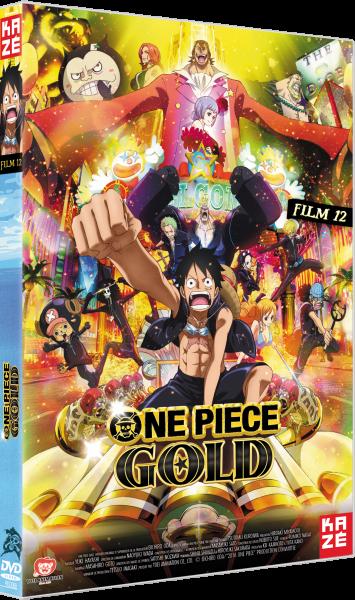 One Piece Gold Film 12 Affiche