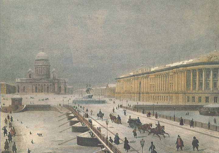 Saint Pétersburg au XIXe siècle