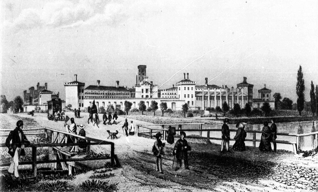Prison de Moabit en 1855