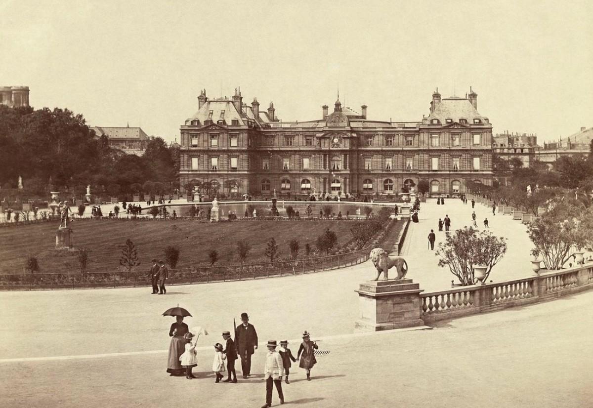 Le Palais du Luxembourg vers 1890