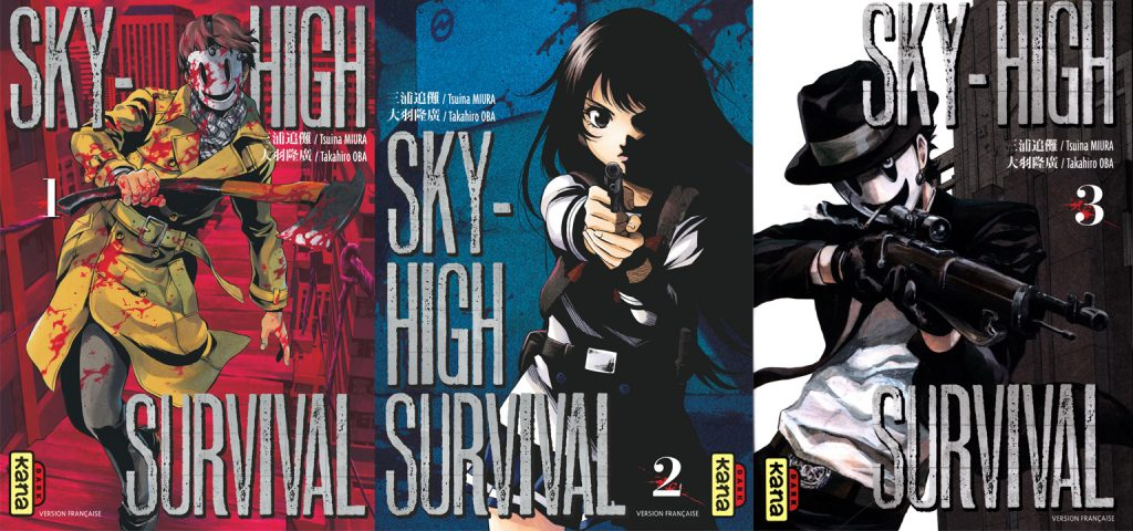 Tomes de Sky High Survival