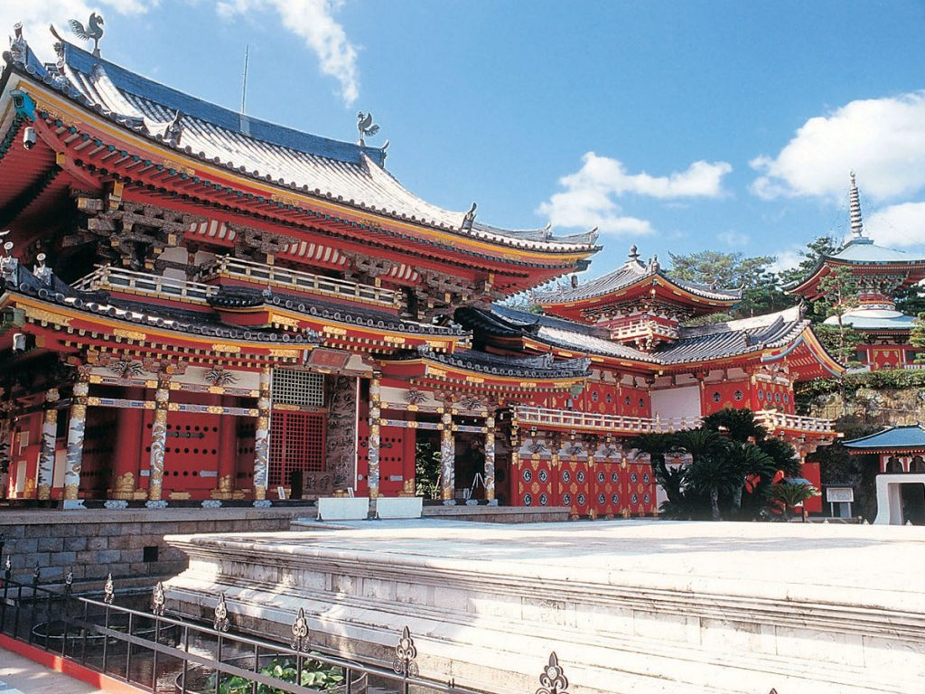 Le temple le plus atypique qu'il puisse exister au Japon. Crédits: chushikokuandtokyo.org