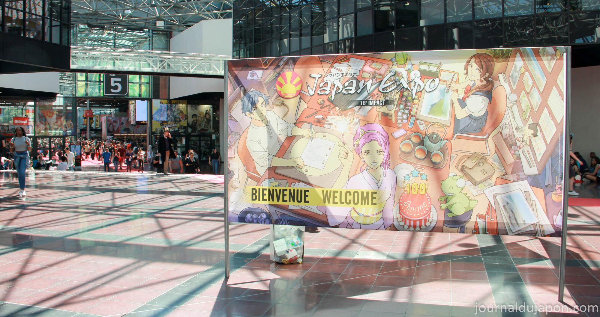 Japan Expo Les Stands : Japan expo 2017 : le bilan de la 18e édition