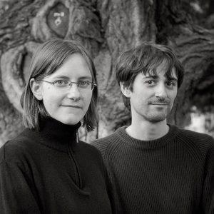 Cécile et Olivier, les deux artistes qui forment l'Atelier Sentô.