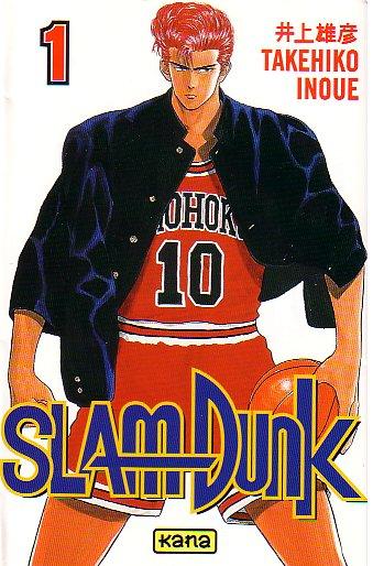 Couverture du premier tome de Slam Dunk