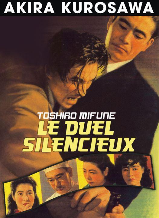 Le Duel Silencieux Affiche Akira KUROSAWA