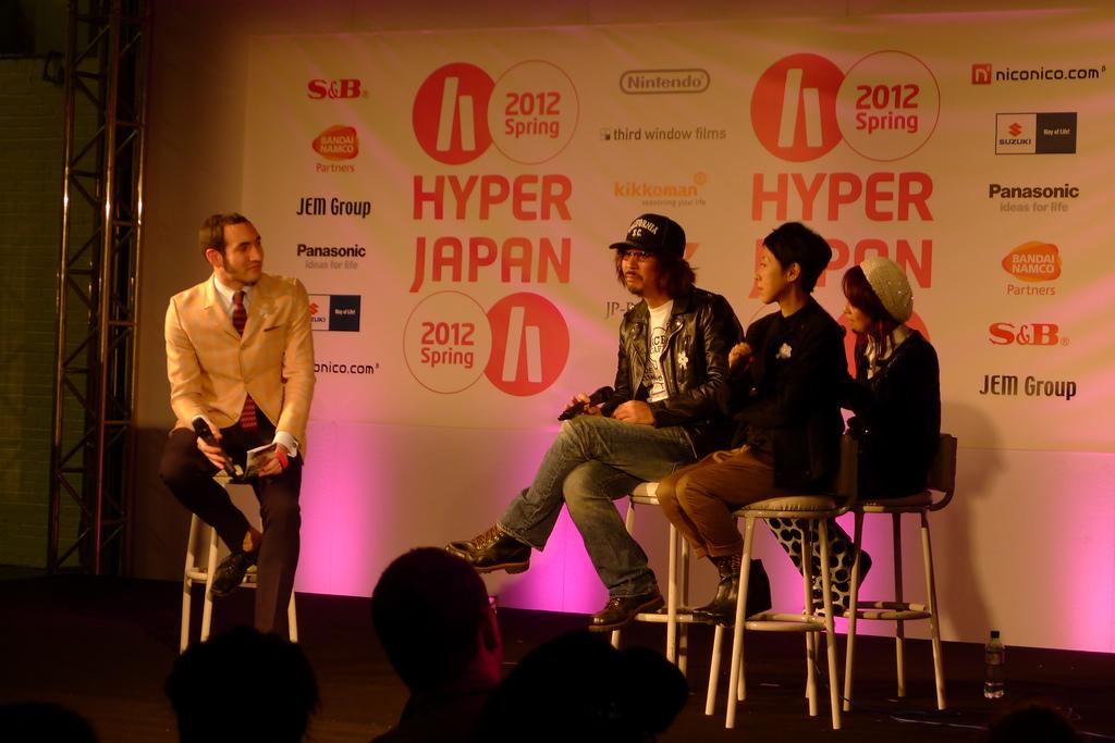 Miki Satoshi and Eri Fuse Q&A