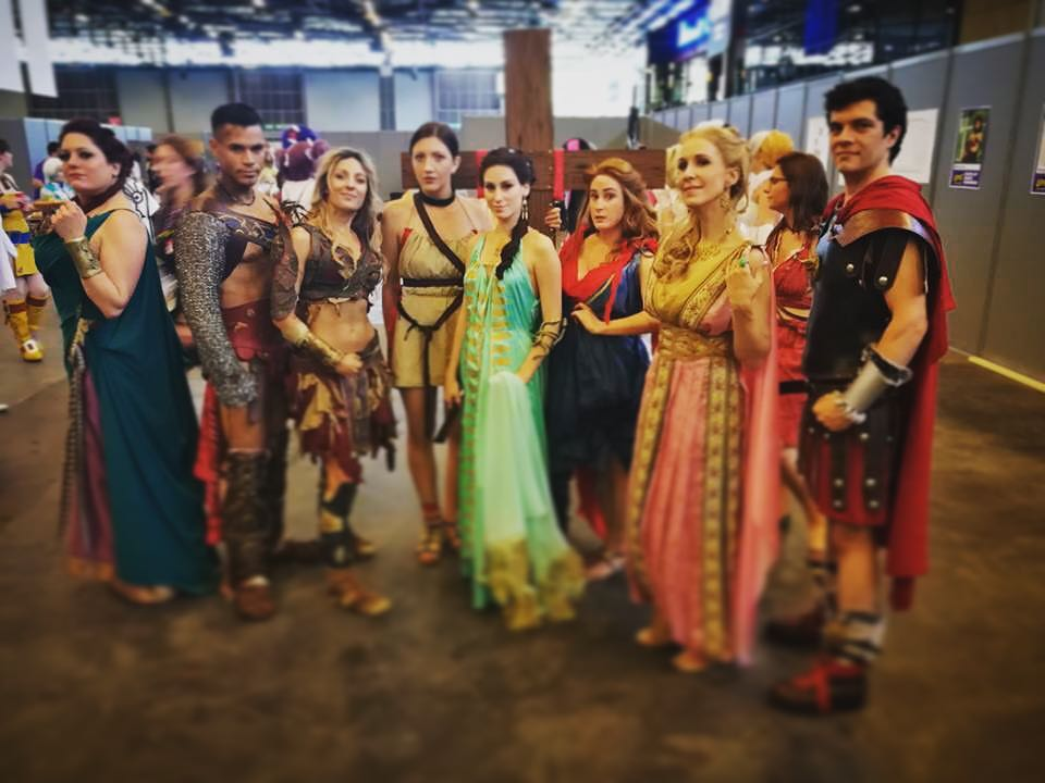 Spartacus Cosplay Group à Japan Expo
