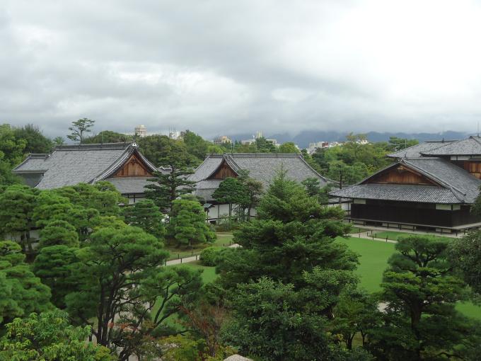 Première visite au Japon et premier grand souvenir: le château du Nijo.