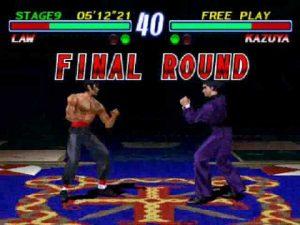 Tekken 2 final round