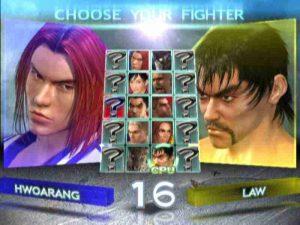 Tekken 4 roster