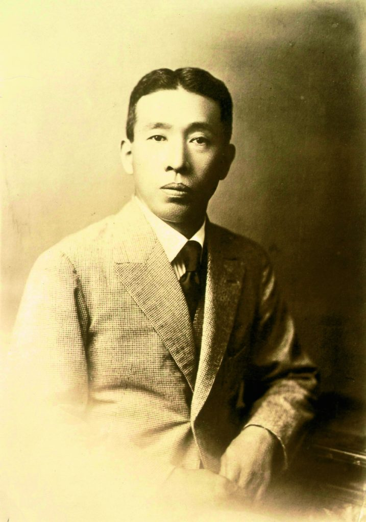 Portrait de Shinjiro Torii. Crédits: montecristomagazine