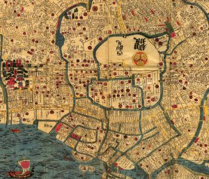 Tokyo, alias Edo, au XIXe siècle