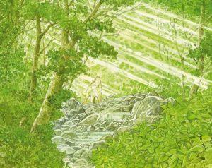 La forêt millénaire de Jirô Taniguchi : page intérieure