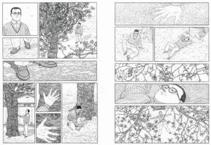 L'homme qui marche de Jirô Taniguchi : pages intérieures