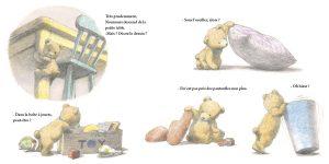 Le portrait de nounours de Chiaki Okada : pages intérieures