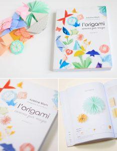 L'origami comme par magie : couverture et page du livre