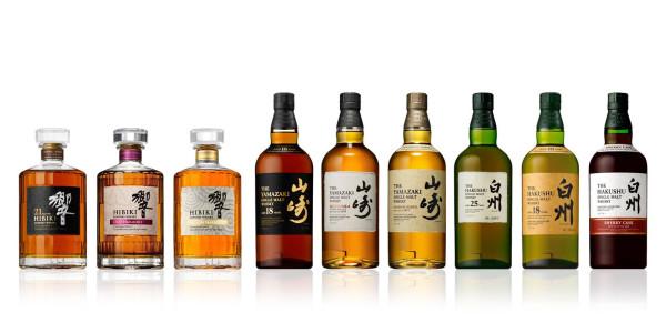 9 médailles d'or et 13 d'argent ont été attribuées aux whiskies Suntory lors de International Spirits Challenge 2014