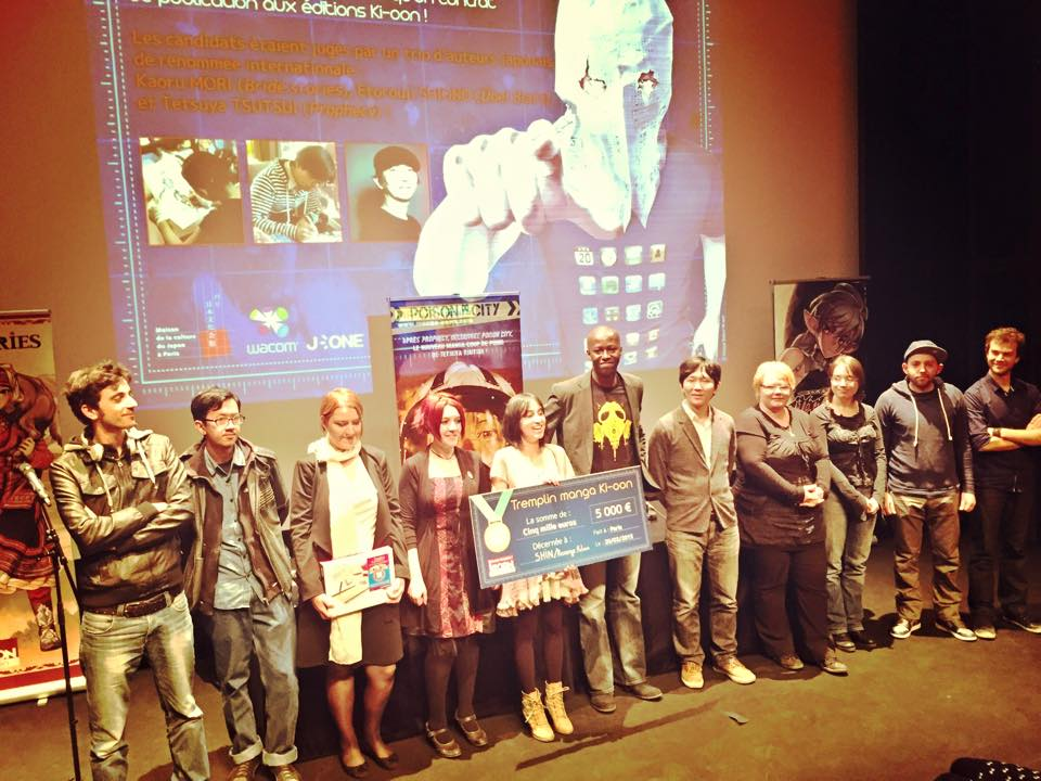 Yami Shin, les jurés et les lauréats du premier Tremplin Ki-oon