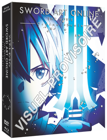 Sword Art Online Ordinal Scale - Edition Collector Combo Blu-Ray/DVD