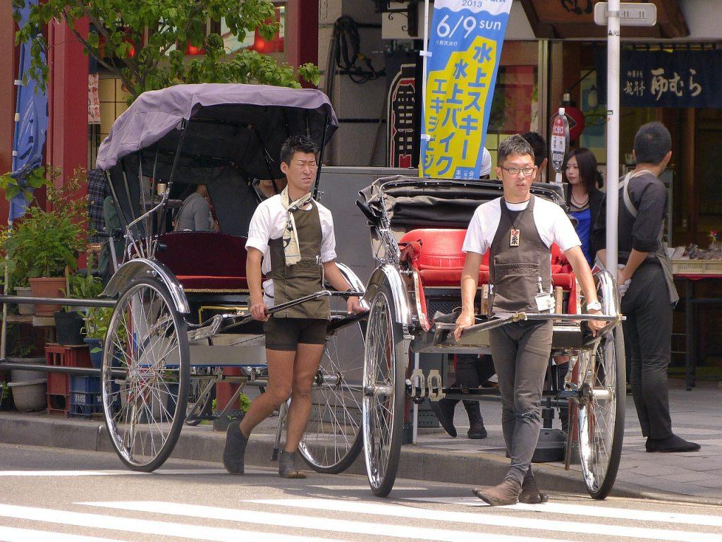 Balade en pousse-pousse dans le vieux Kyoto