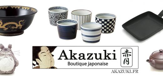 Akazuki, Boutique japonaise