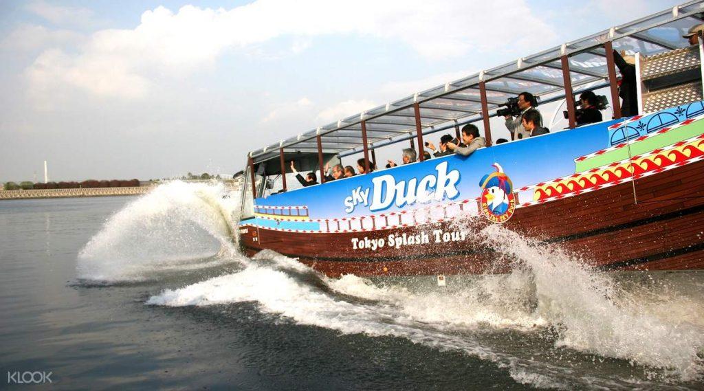 Le bus aquatique de Tokyo