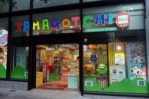 Tamagotchi store à tokyo