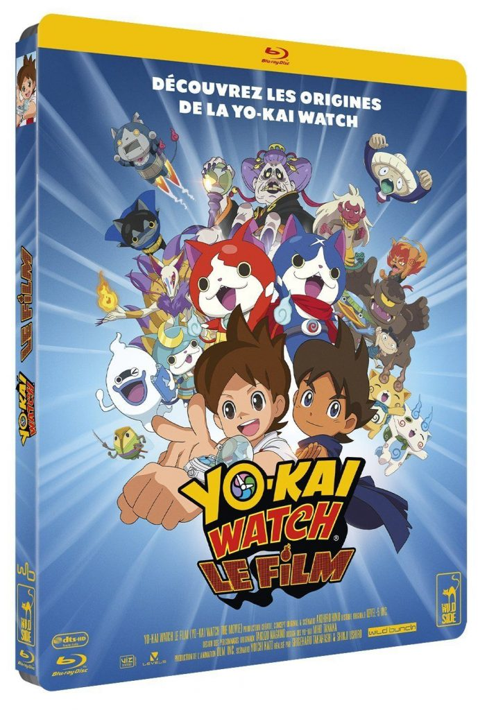 Yo-kai watch film 1-blu-ray